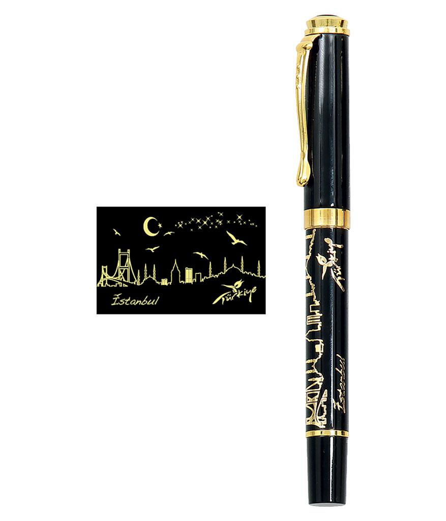 İstanbul Altın yaldız Kalem Seti