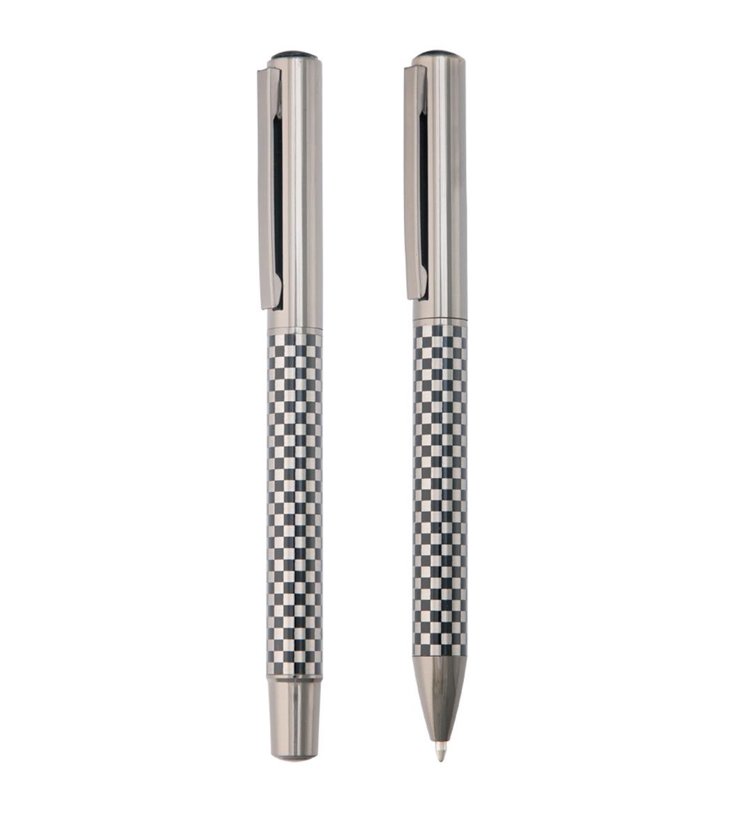 Metalik Roller ve Tükenmez Kalem Seti