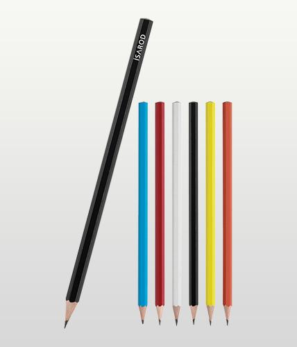 Siyah Köşeli Kurşun Kalem