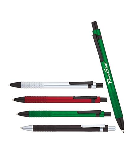 Yeşil Yarı Metal Tükenmez Kalem