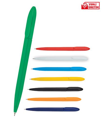 Yeşil Plastik Tükenmez Kalem