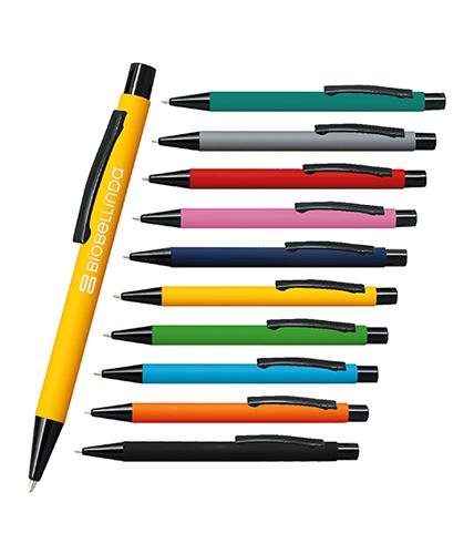 Sarı Metal Rubber Tükenmez Kalem