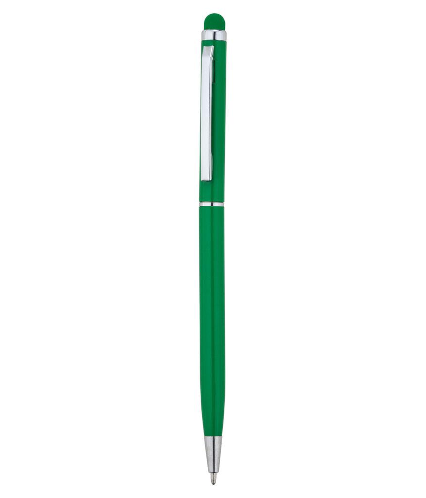 Yeşil Touchpen Metal Tükenmez Kalem