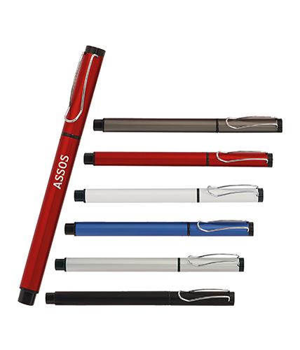 Kırmızı Metal Roller Kalem