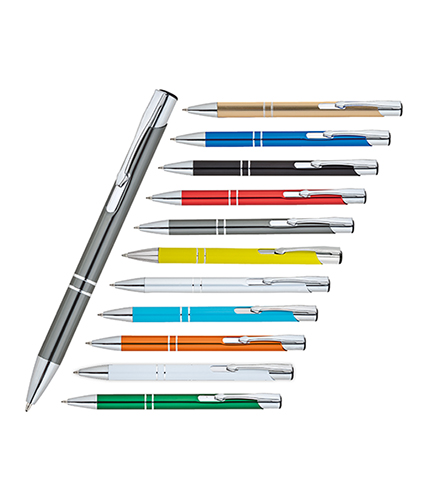 Füme Metal Tükenmez Kalem
