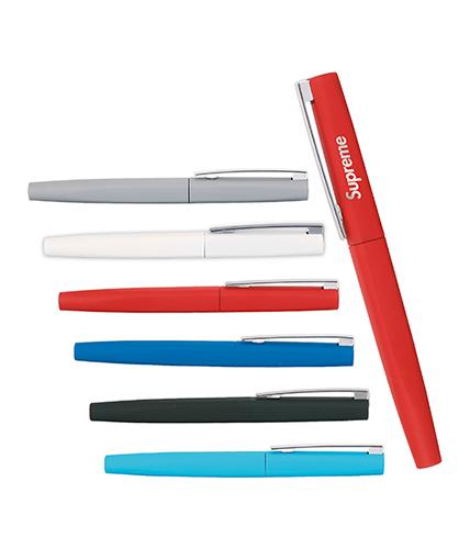 Kırmızı Metal Rubber Roller Kalem