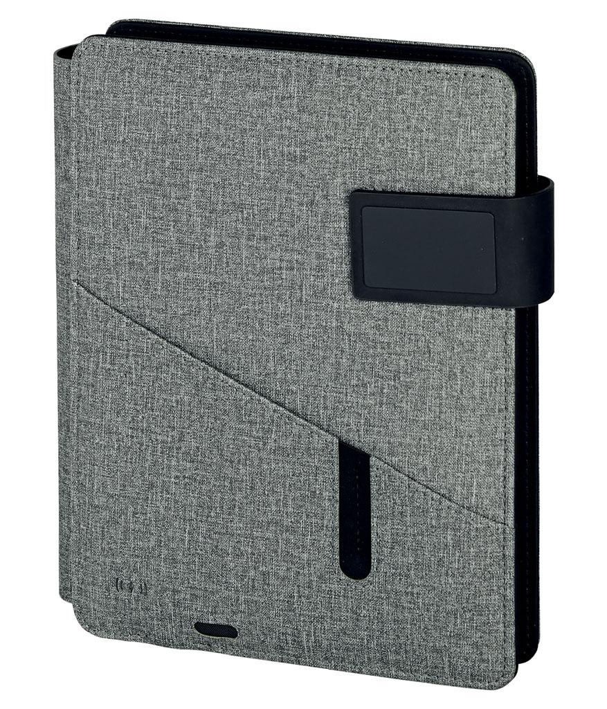 Gri Wireless Book Mekanizmalı Defter