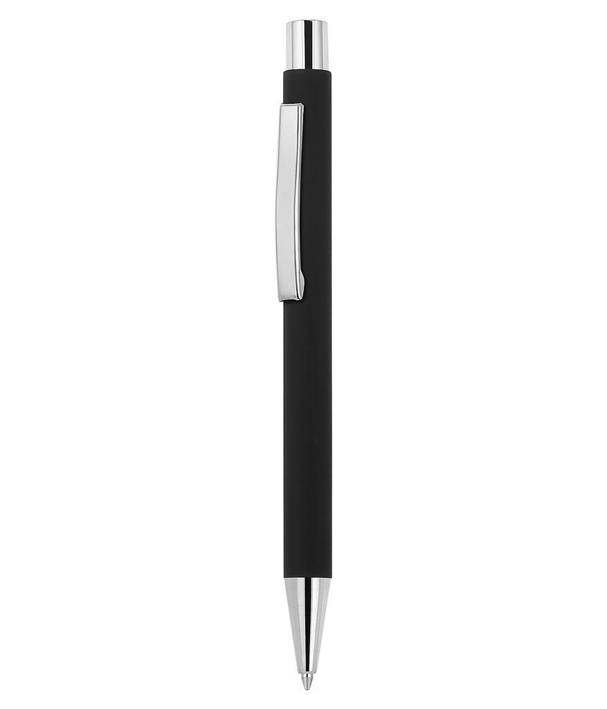 Gümüş Rubber Metal Tükenmez Kalem
