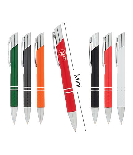 Kırmızı Mini Metal Tükenmez Kalem