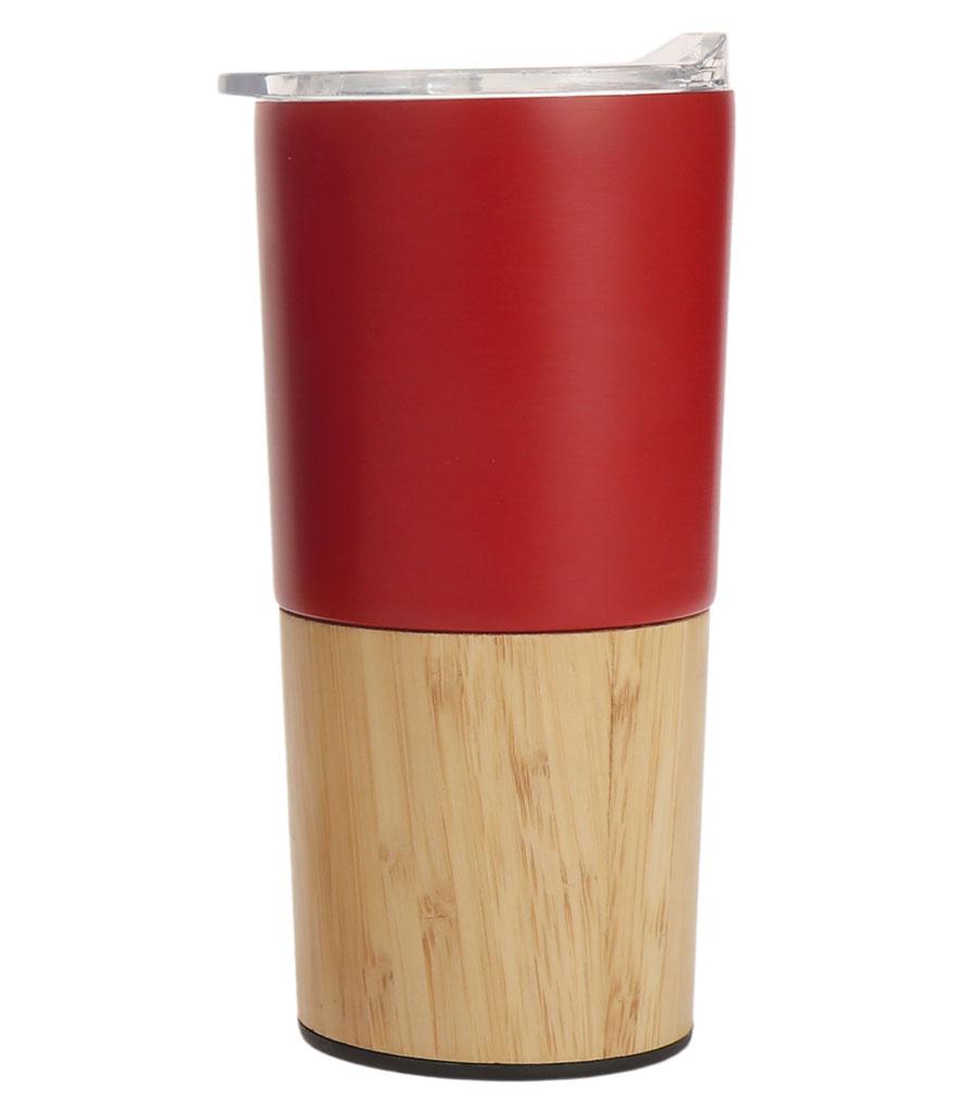 Kırmızı 470 ml. Bambu Termos