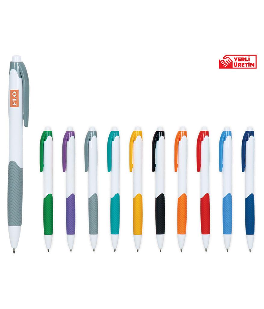Gri Plastik Tükenmez Kalem
