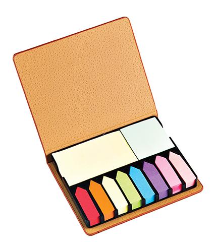 Termo Deri Renkli Yapışkanlı Notluk