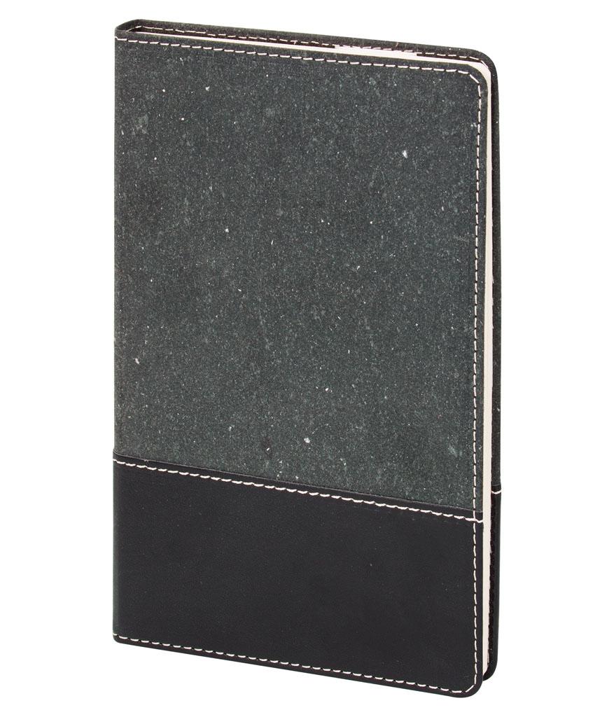 Siyah Pelle 13x21 cm Çizgili Defter