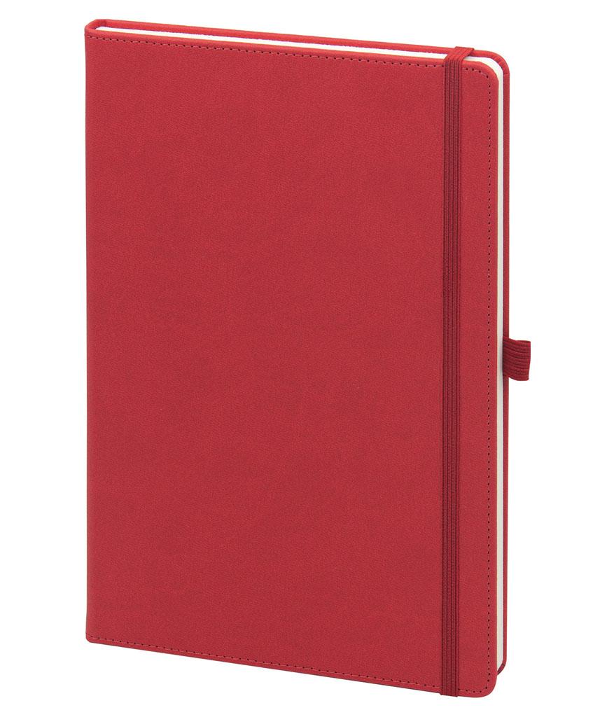 Kırmızı Suadiye 16x24 cm Çizgili Defter