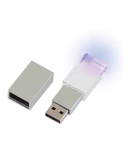 8-16-32 GB Kristal Usb Bellek