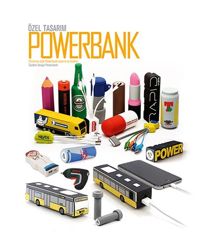 Özel Tasarım Powerbank