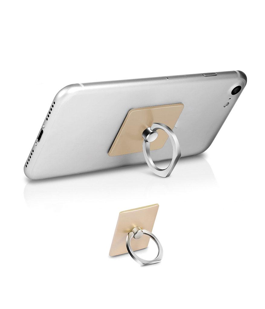 Altın Plastik Yüzük Telefon Tutucu
