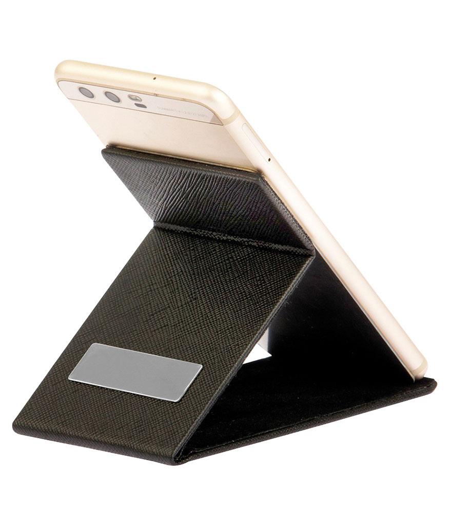 Deri Ayna ve Telefon Standı